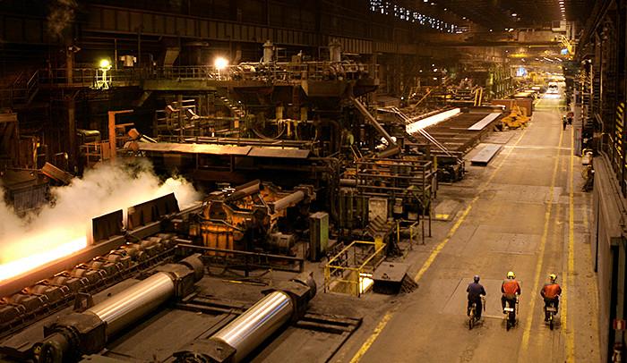 Rautaruukin Raahen tehdas. Kuva: Pekka Karhunen