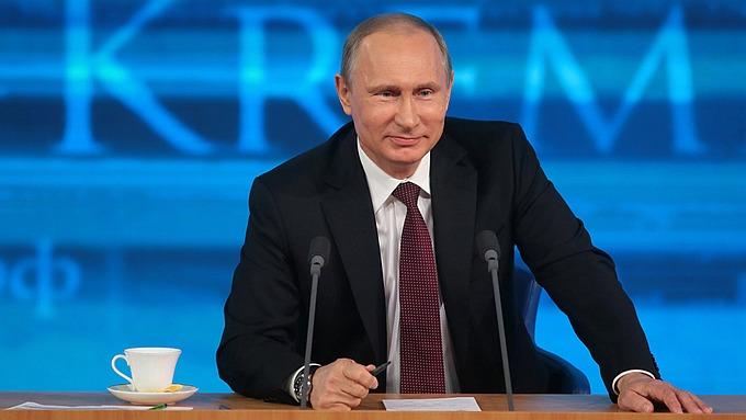 Presidentti Putin lehdistötilaisuudessa