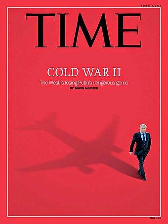 """Putin ja syyllisyyden varjo Time-lehden kannessa. MH17-matkustakoneen tuhoutumista Ukrainan ilmatilassa on pian selvitetty vuoden ajan, mutta Time """"tiesi"""" syyllisen muutamassa päivässä."""