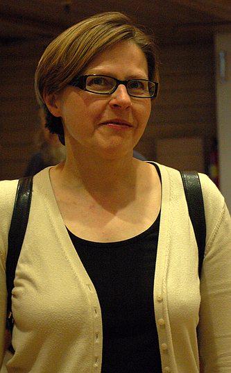 Heidi Hautala. Kuva: Leena Hernesniemi / Wikimedia Commons