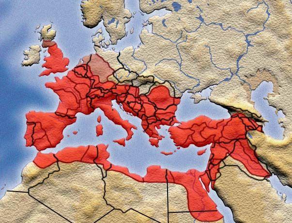Rooman valtakunnan kohtaloksi koituivat viime kädessä väkivaltaisen riistopolitiikan seuraukset.