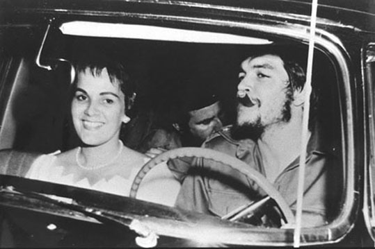 Aleida March ja Che Guevara 1961.